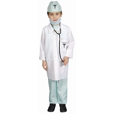 Dress Up America Deluxe Doctor Dress Up Children's Costume Set