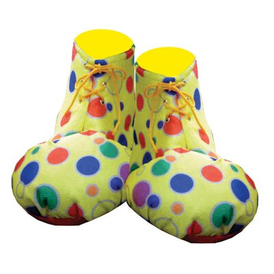 Dress Up America Clown Shoe Covers - Size: Kids, Color: Yellow at Sears.com