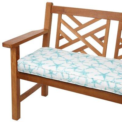 Stella Outdoor Bench Cushion Size: 48 W x 19 D