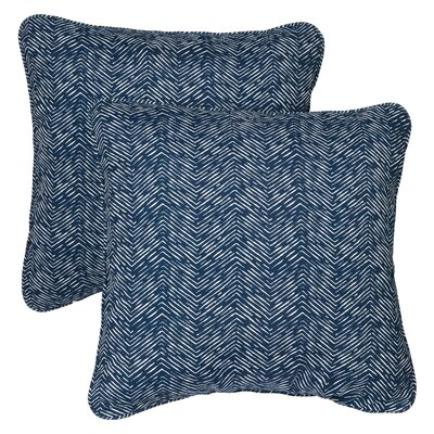 Midtown Indoor/Outdoor Throw Pillow Size: 22 H x 22 W