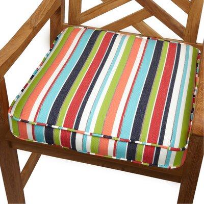 Outdoor Sunbrella Dining Chair Cushion Size: 20 W x 20 D