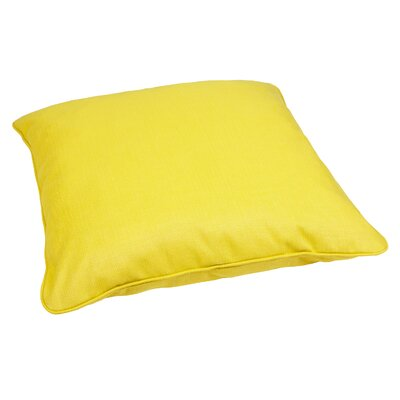 Mozaic Company Corded Floor Pillow - Fabric: Yellow / Green at Sears.com