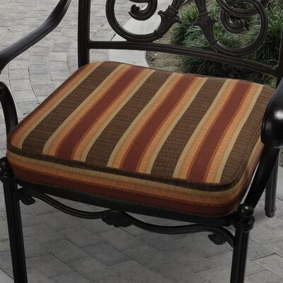 Outdoor Sunbrella Dining Chair Cushion Size: 20 W x 20 D