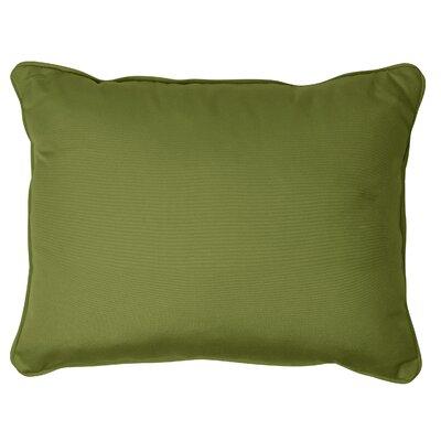 Derrytown Indoor/Outdoor Sunbrella Lumbar Pillow Size: 13 H x 20 W, Color: Spectrum Cilantro
