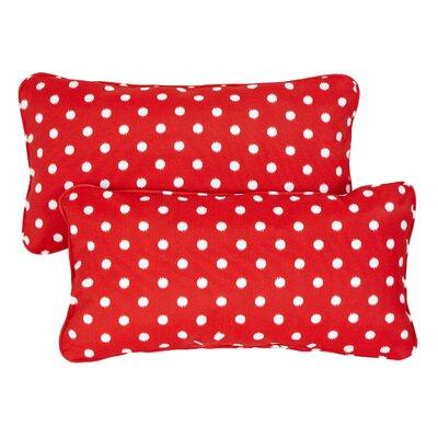 Corded Lumbar Throw Pillows (Set of 2) - Size: 13