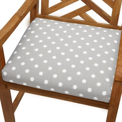 Bree Outdoor Dining Chair Cushion Size: 19 x 19