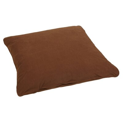 Floor Pillow Color: Suede Chocolate
