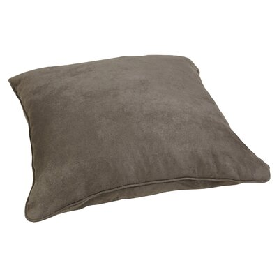 Floor Throw Pillow Color: Suede Gray