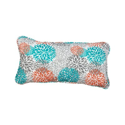 Stella Bloom Outdoor Lumbar Pillow Color: Tropic