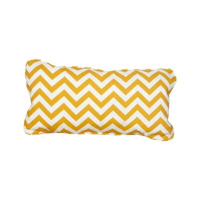 Stella Chevron Indoor/Outdoor Lumbar Pillow Color: Yellow