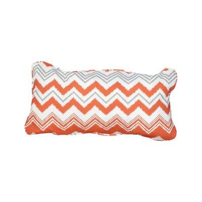 Stella Zazzle Indoor/Outdoor Lumbar Pillow Color: Tango