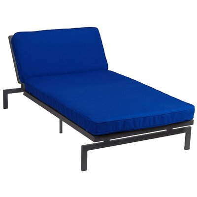 Alexa Chaise Lounge Cushion Fabric True Blue - Product photo