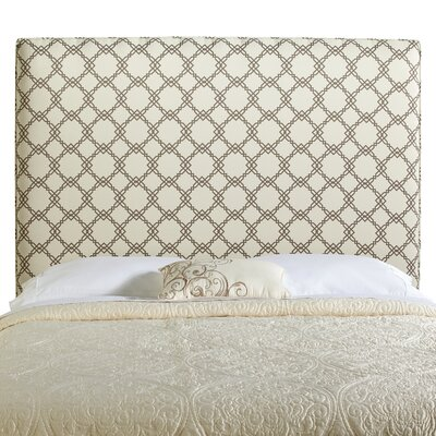 Berrington Queen Upholstered Panel Headboard Upholstery: Ivory