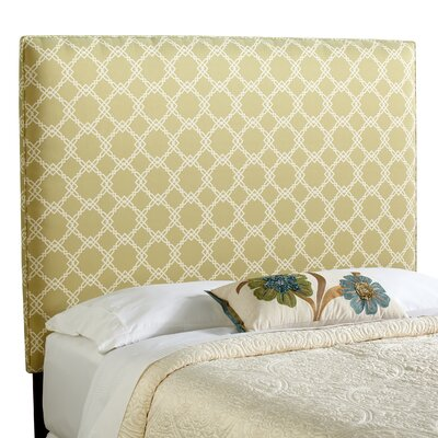 Berrington Queen Upholstered Panel Headboard Upholstery: Dark Green
