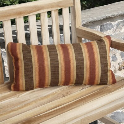 Knife Edge Indoor Outdoor Sunbrella Lumbar Pillow