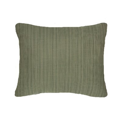 Knife Edge Indoor Outdoor Sunbrella Lumbar Pillow Color: Laurel