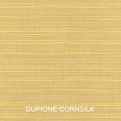 Outdoor Sunbrella Loveseat Cushion Color: Cornsilk