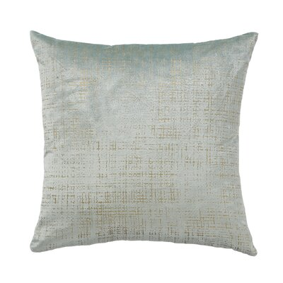 Etched Velvet Mist Throw Pillow Size: 18 x 18