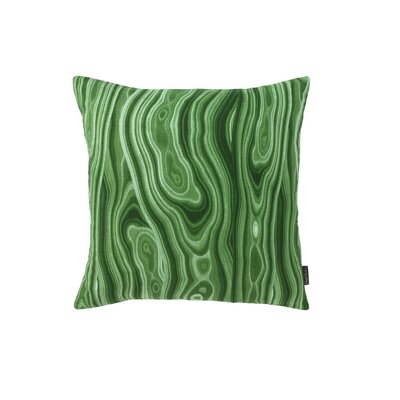 Malakos Malachite Pillow Size: 18 x 18