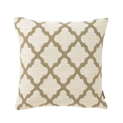 Casablanca Toffee Pillow Size: 18 x 18