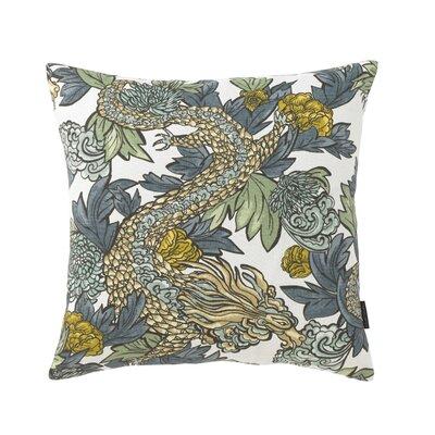 Ming Dragon Midnight Pillow Size: 18 x 18