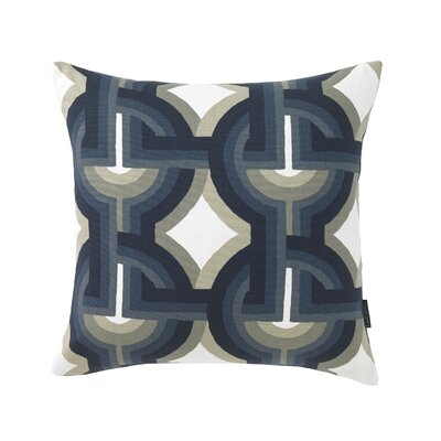 Futura Midnight Pillow Size: 18 x 18