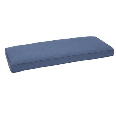 Granada Piped Indoor/Outdoor Sunbrella Bench Cushion