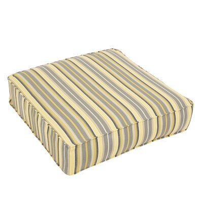 Stripe Outdoor Sunbrella Dining Chair Cushion