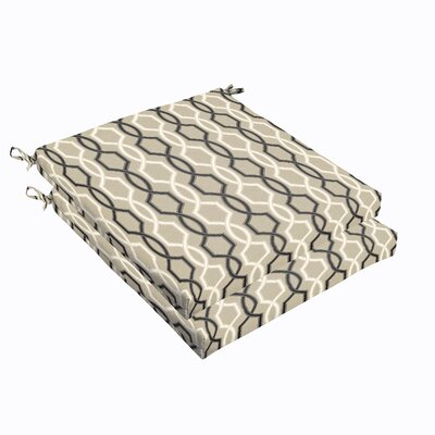 Bank Indoor/ Outdoor Chair Cushions Size: 19 Inch