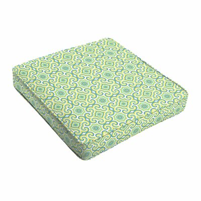 Indoor/Outdoor Dining Chair Cushion Size: 19 W x 19 D