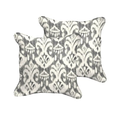 Jenifer Reagan Indoor/Outdoor Throw Pillow Size: 18 W x 18 D