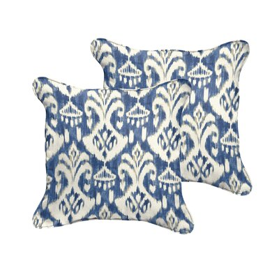 Jenifer Reagan II Indoor/Outdoor Throw Pillow Size: 18 W x 18 D