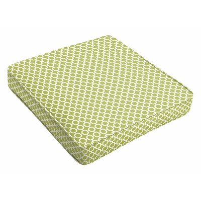 Indoor/Outdoor Dining Chair Cushion Size: 3 H x 19 W x 19 D