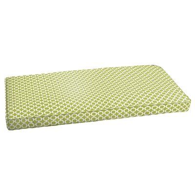 Indoor/Outdoor Bench Cushion Size: 3 H x 60 W x 19 D