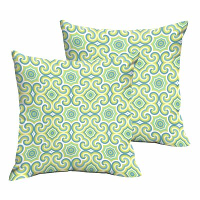 Zelda Indoor/Outdoor Throw Pillow Size: 18 H x 18 W x 6 D