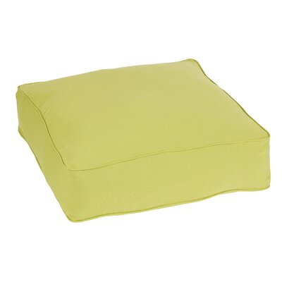 Keila Indoor/Outdoor Euro Pillow Color: Pear Green