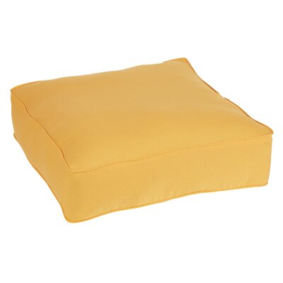 Keila Indoor/Outdoor Euro Pillow Color: Orange