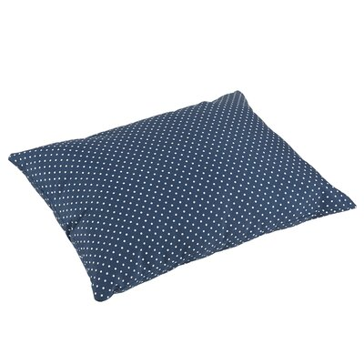 Rundell Polka Dots Knife Edge Indoor/Outdoor Floor Pillow
