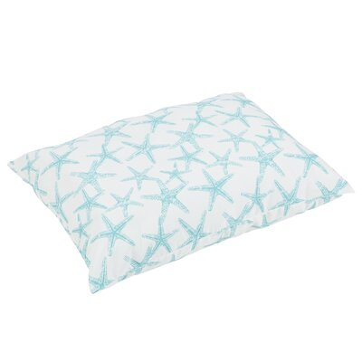 Argyle Knife Edge Indoor/Outdoor Floor Pillow