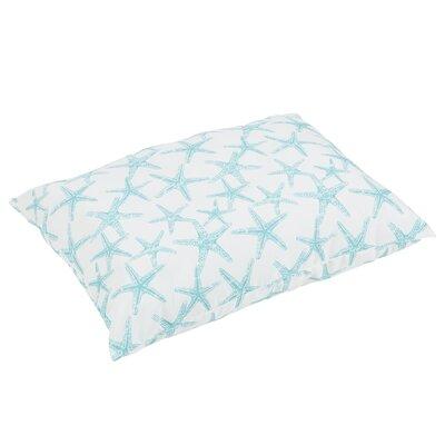 Argyle Knife Edge Indoor/Outdoor Floor Pillow