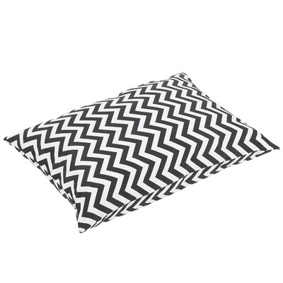 Altieri Knife Edge Indoor/Outdoor Floor Pillow