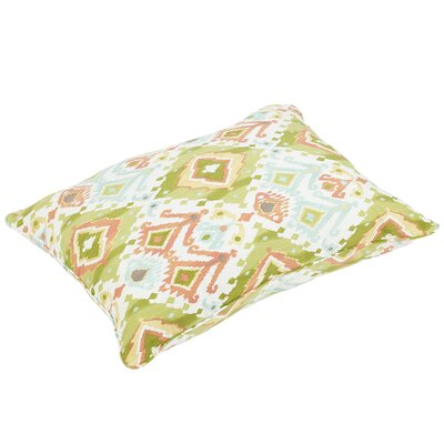 Fealty Piped Edge Indoor/Outdoor Floor Pillow