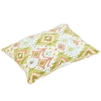 Fealty Piped Edge Indoor/Outdoor Floor Pillow