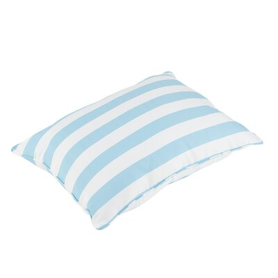 Halliday Piped Edge Indoor/Outdoor Floor Pillow