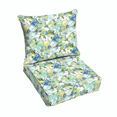 Shoffner Outdoor Lounge Chair Cushion