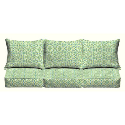 Zelda 6 Piece Outdoor Sofa Cushion Set