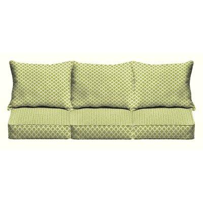 6 Piece Outdoor Sofa Cushion Set