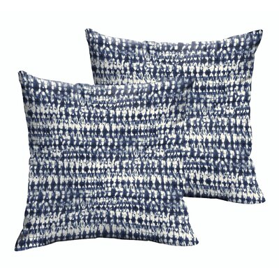 Demers Square Graphic Indoor/Outdoor Throw Pillow Size: 22 H x 22 W x 6 D