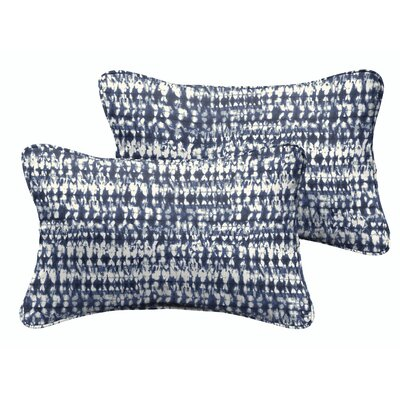 Demers Graphic Indoor/Outdoor Lumbar Pillow