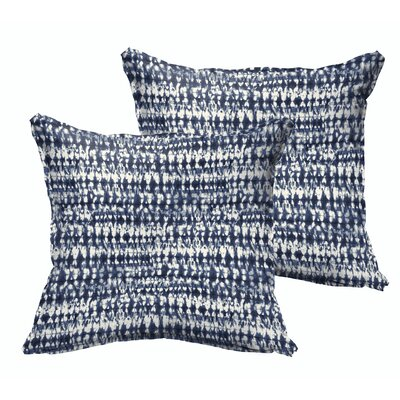 Costin Outdoor Throw Pillow Size: 22 x 22
